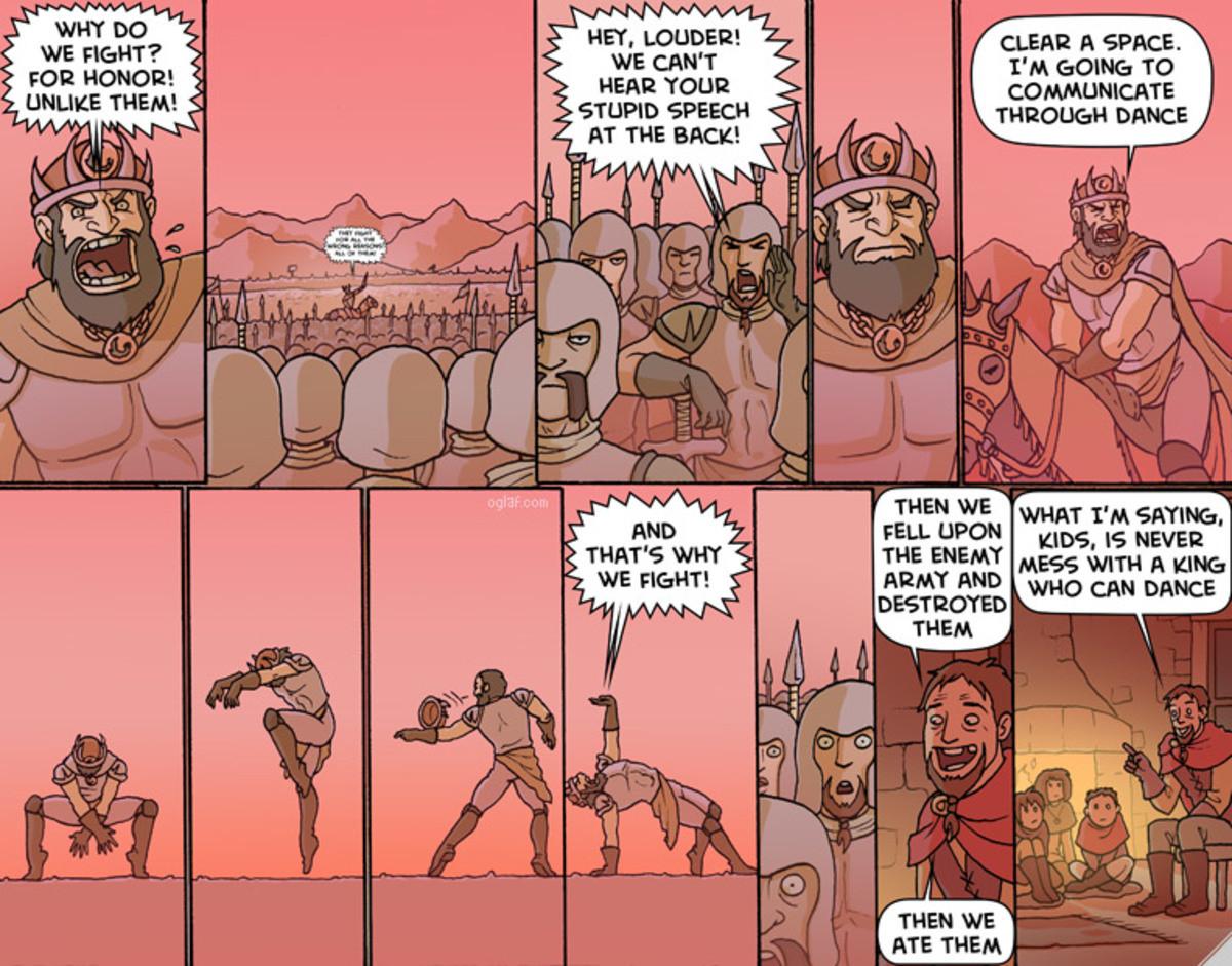 Bards. .. Basically the story of Edward III of England.