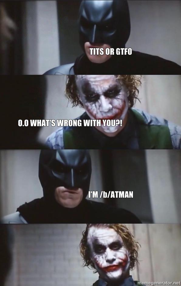 batman LOL. LOL.