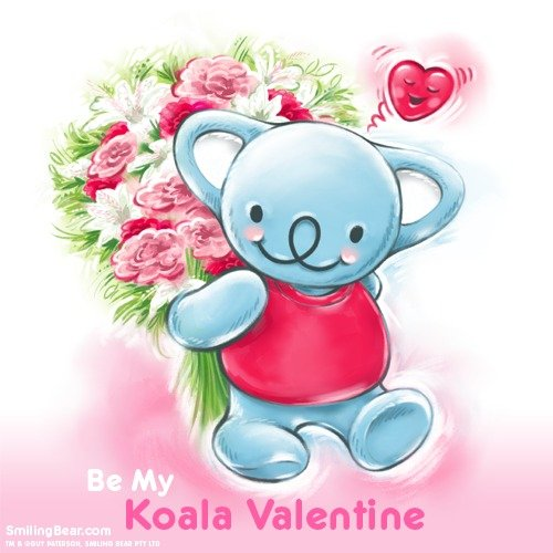 Be My Koala Valentine. Be My Koala Valentine! Free Ecard (great if you've forgotten a card!).