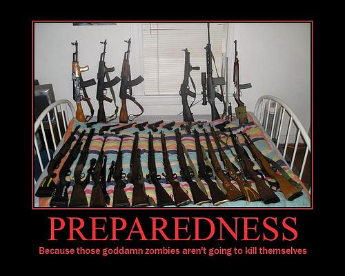 Be Prepared. .. wow is that sarah palins collection?