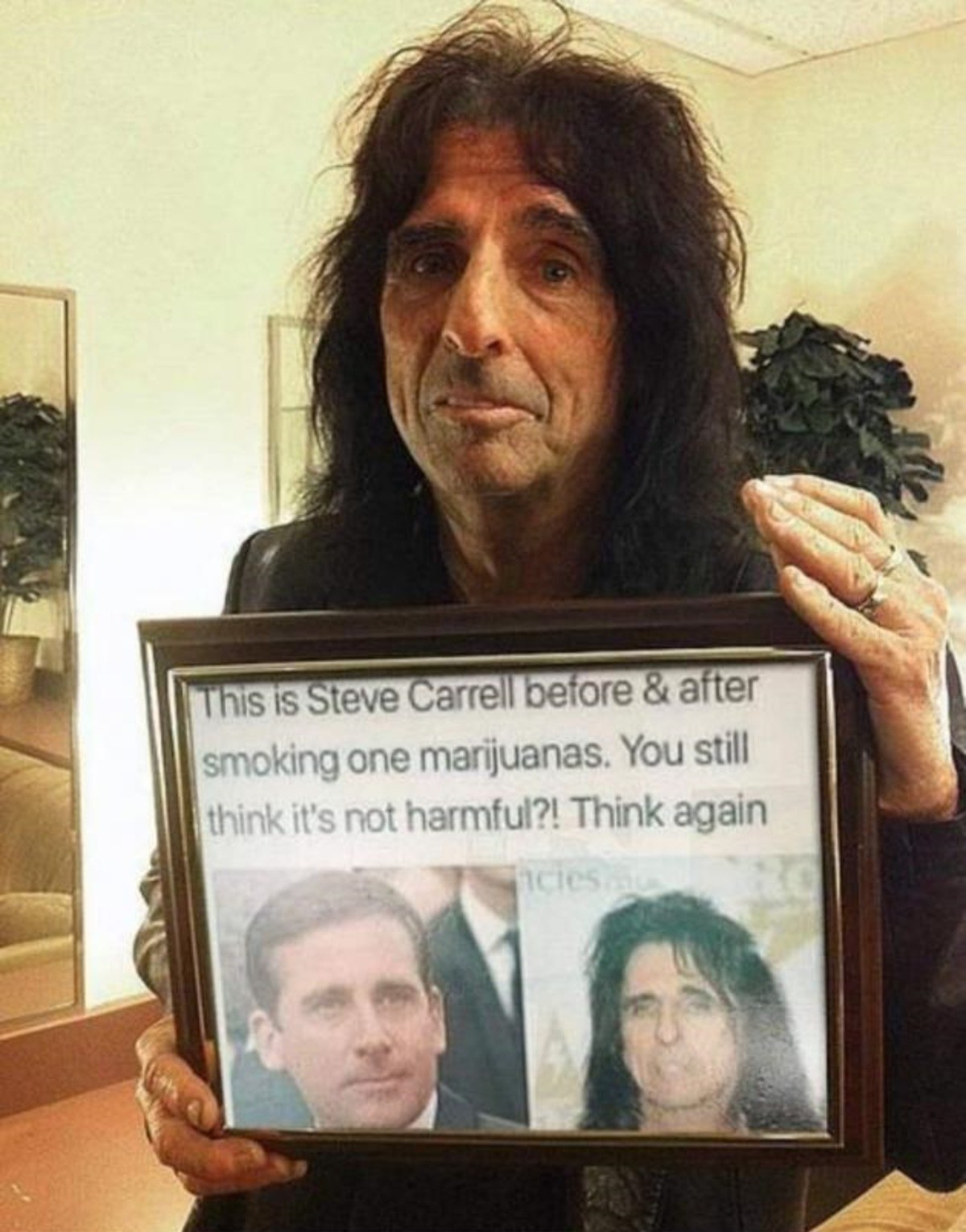 be warned. .. Alice Cooper is a national treasure