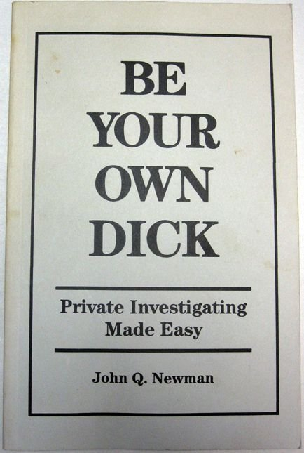 Be Your own . .. Be one with the dick, feel the dick, be the dick