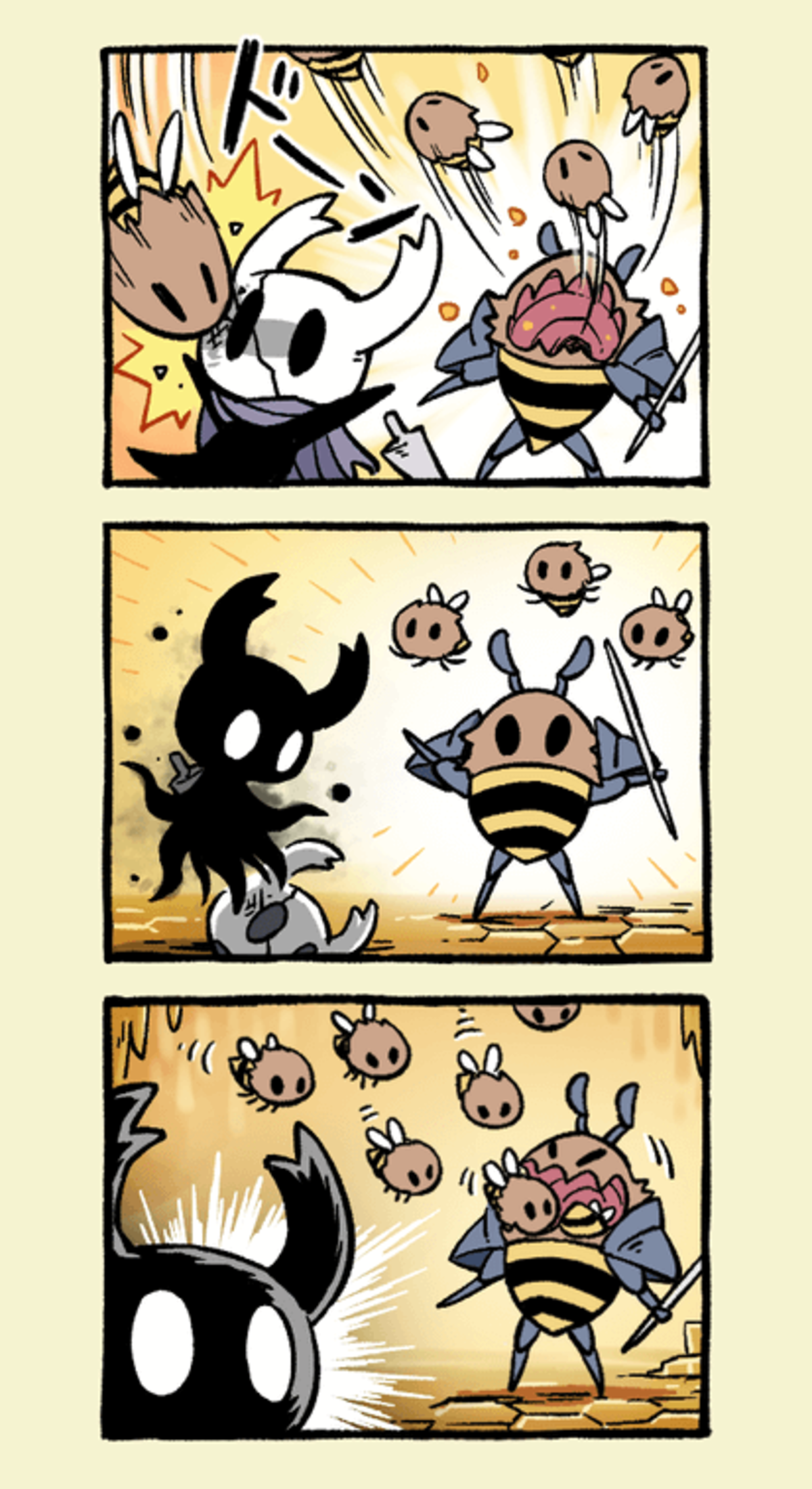 bee hive inception. art by KTSN..
