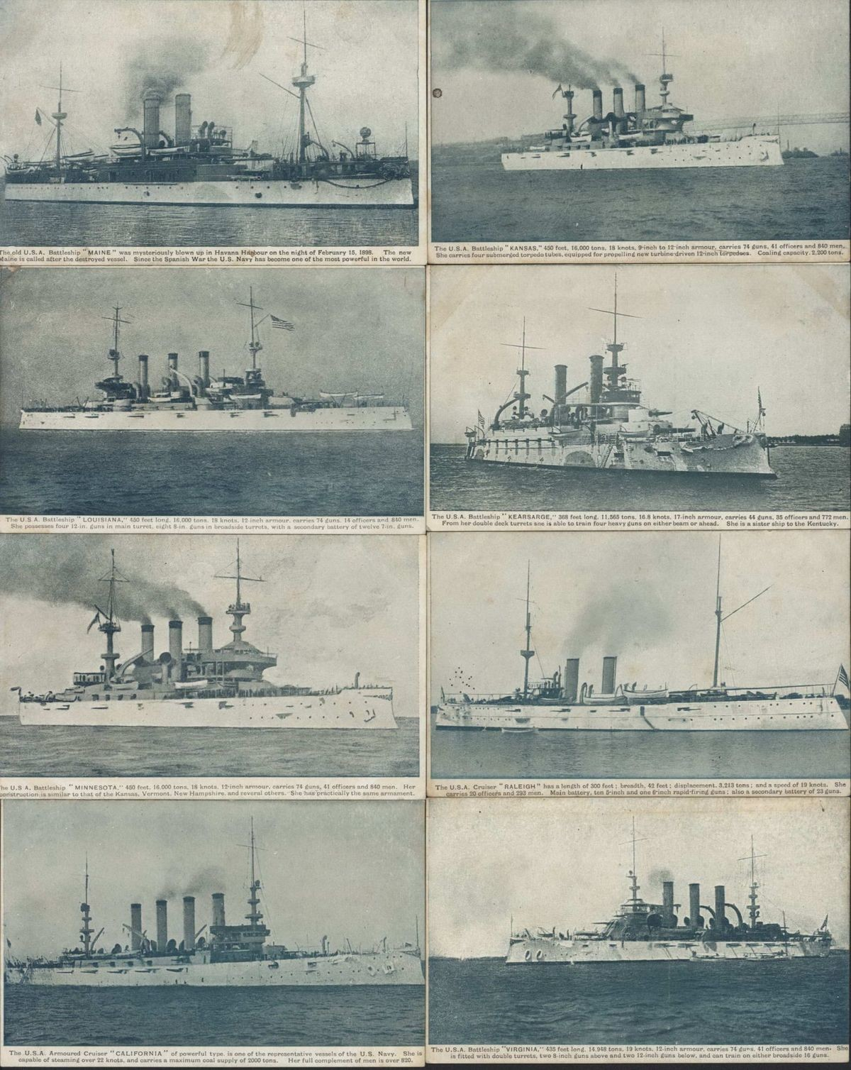 Best Ally. Postcards from the Great White Fleet visit to Australia, 1907... The fun fact about this is that the tech in ships were moving so fast that by the time they ended their world tour the ships are already outdated
