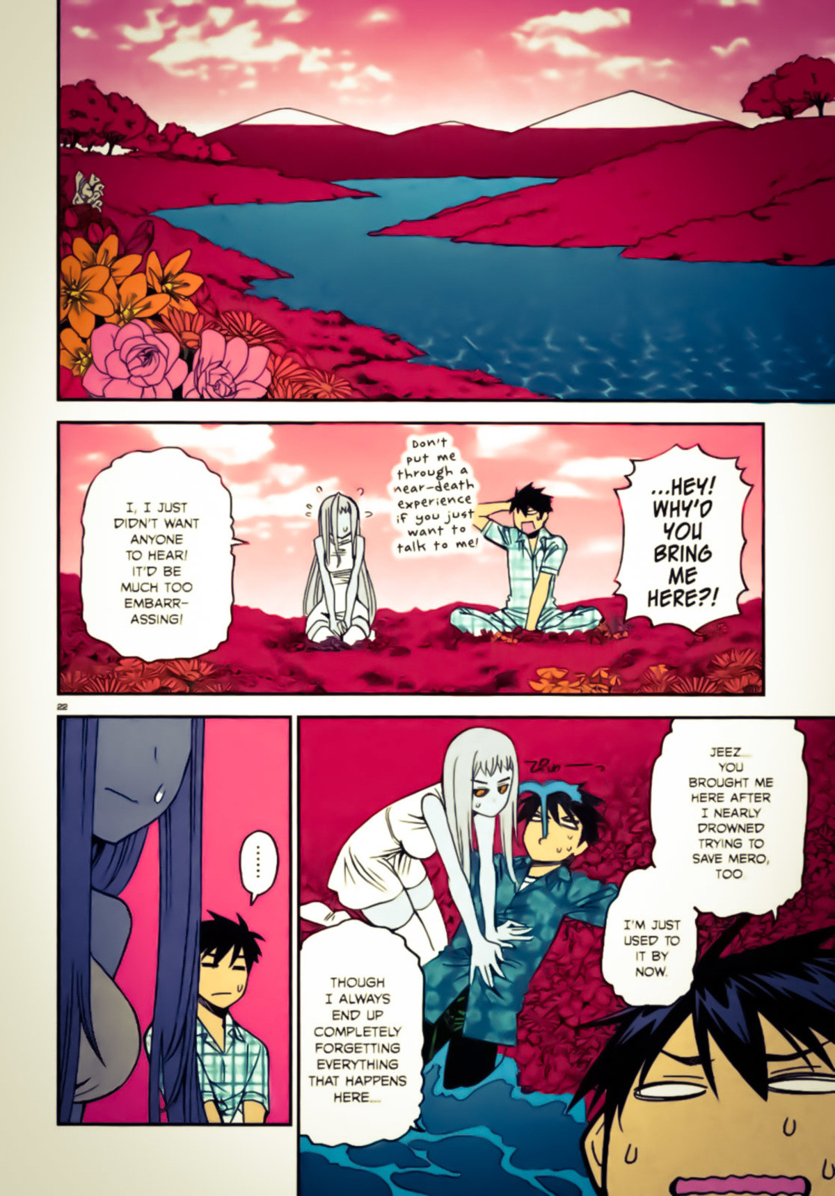 """Best Girl Emotions & Comfort. This was basically a """"save our sick daughter/little sister"""" chapter. Seriously still the most deep and emotional well wr"""