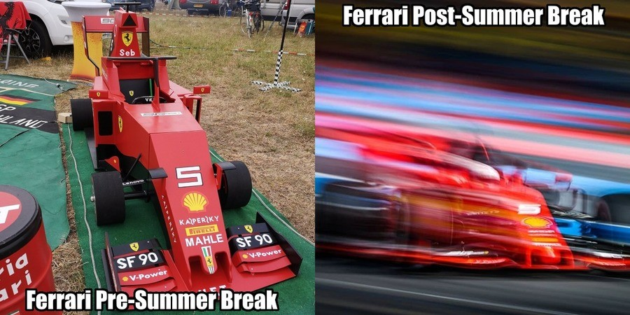 Better too late than never, I guess.. join list: Motorsports (185 subs)Mention History.. Thank god, Ferrari is back.