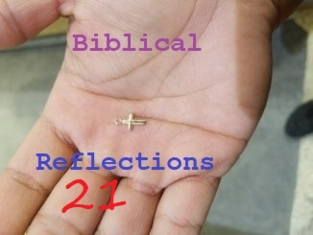 Biblical Reflection 114. I want to bring people to the salvation of Jesus. So instead of tainting the bible I'll let it speak for itself. When I find time I wil