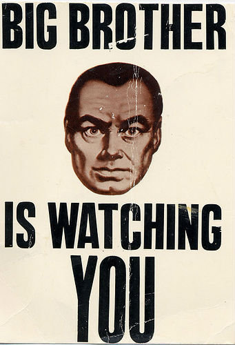 Big Brother Acta is watching you.. .. people are pinkieing down because they do not appreciate the great literature that built this country i gave you a pinkie because i was thinking this just the o