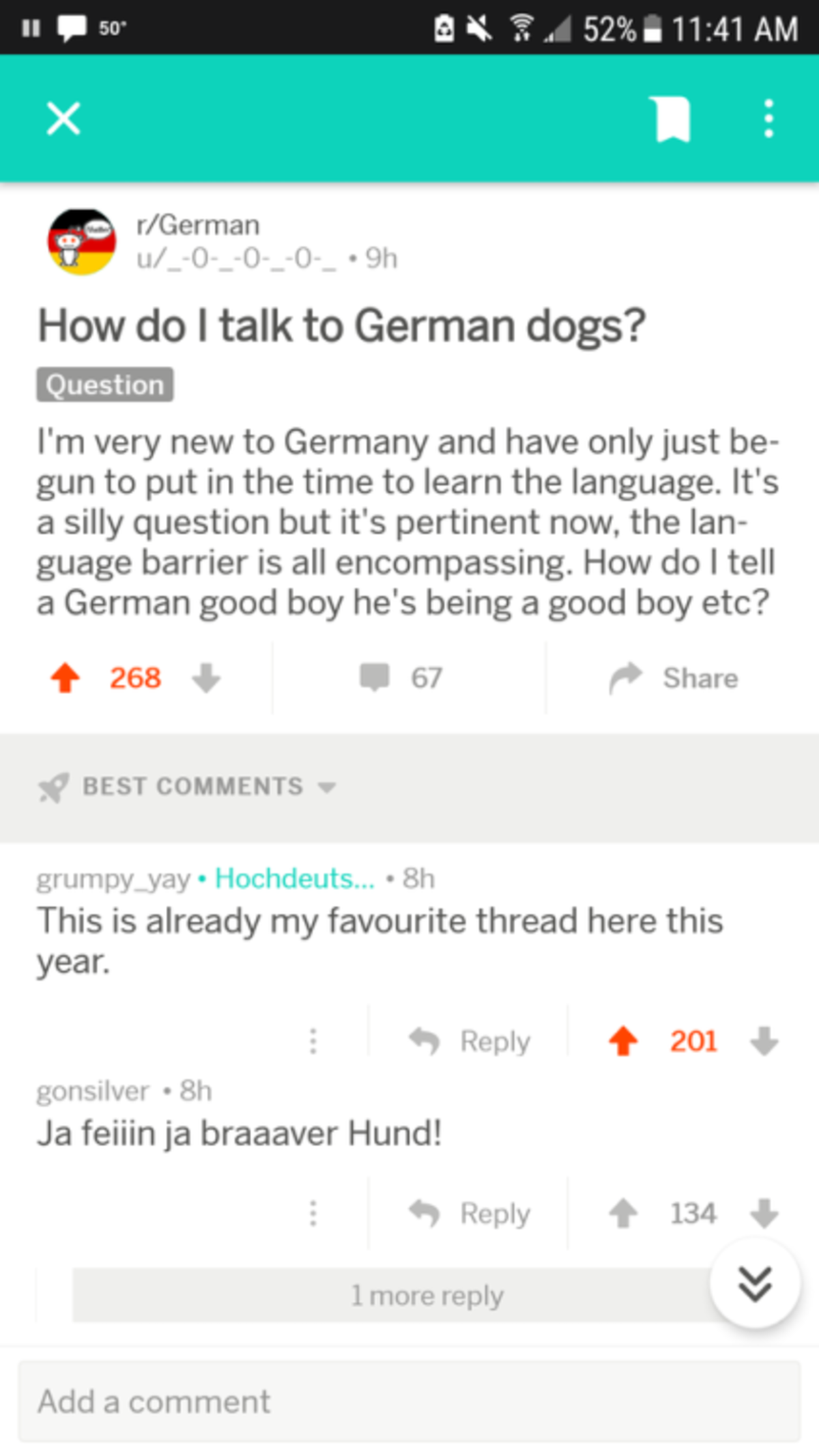 Big happy comp :). join list: HappyThoughts (1573 subs)Mention History. r/ German How do I talk to German dogs? I' m very new to Germany and have only just be-