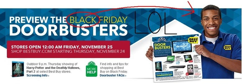 BLACK Friday. it's nice to see best buy promoting diversity. PREVIEW THE BLACK FRIDAY STORES OPEN ': 00 AM FRIDAY, NOVEMBER 25 Harry Fetter and the - Halleys, a