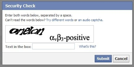 Captcha's!. yeah he is right!. Security (Sivan! -z Enter both wards beleev, separated by a space. Can' t read the wards below? Try different words cur an audio