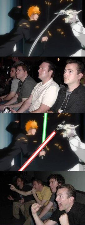 Bleach Wars. lmao, I'm not sure if its a repost or not, but my friend made it! x3.