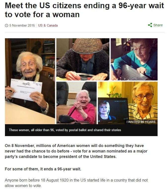 Bless her heart!. .