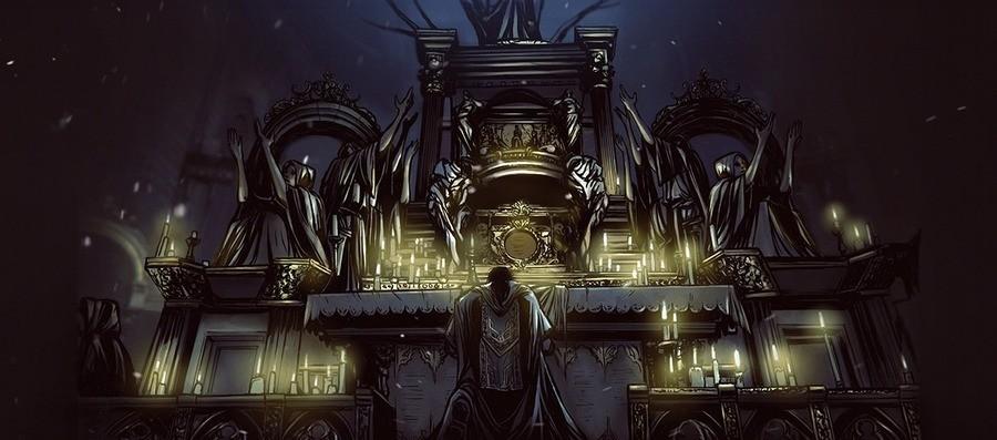 Bloodborne | Lore Ilustrado | Ludwig. .. Ludwig, a.k.a. rapehorse