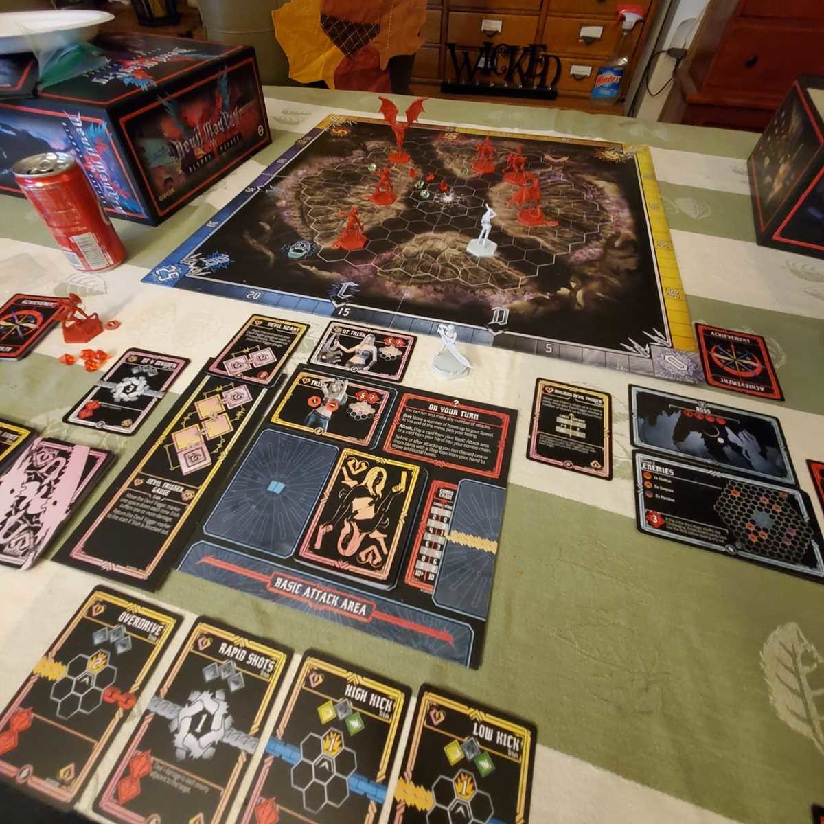 Bloody Hell. Just got my copy of 'Devil May Cry :The Bloody Palace' Sunday and have now played with my wife and my best friend, and by myself. Honestly I am enj