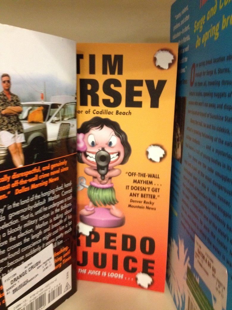 Bookstore when suddenly..... OC...... The juice is loose....