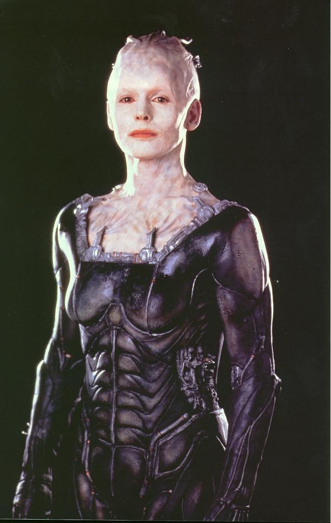 Borg Queen & Seven of Nine-Fan Theory. A co-worker, and I were deep in conversation on Star Trek. The subject of our conversation was the importance of Seven of
