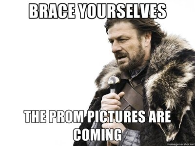Brace Yourselves. Prepare.. rif, ffrp Q, lillol, lalalal IE'). Some have already came