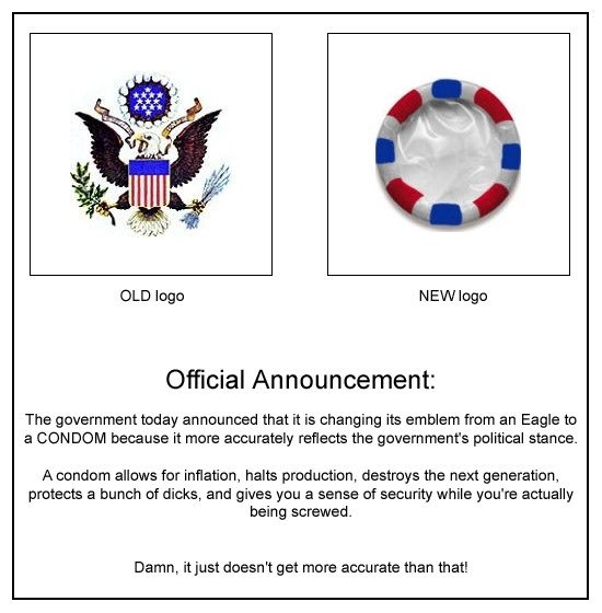 Breaking News. . Official Announcement: The today that it is changing its emblem treat an Eagle to a became it were accurately the portal . A madam alleles fer