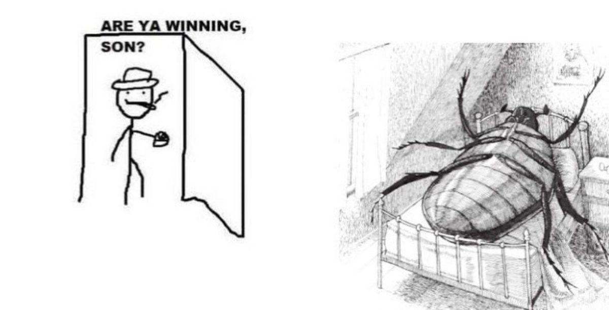 but gregor was not winning. .. It looks retarded, its from Junji Ito right?