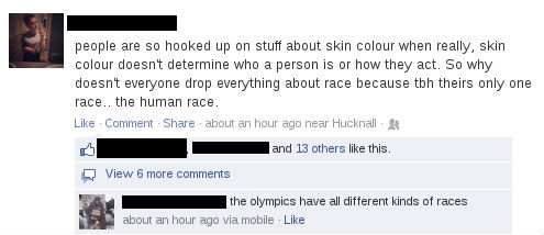 Can't argue with that. as usual, thumbs for all who dare to comment. people are so hooked up on stuff about skin colourways really, skin colour doesnt determine