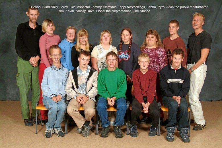 Class Photo. .. This made me feel bad