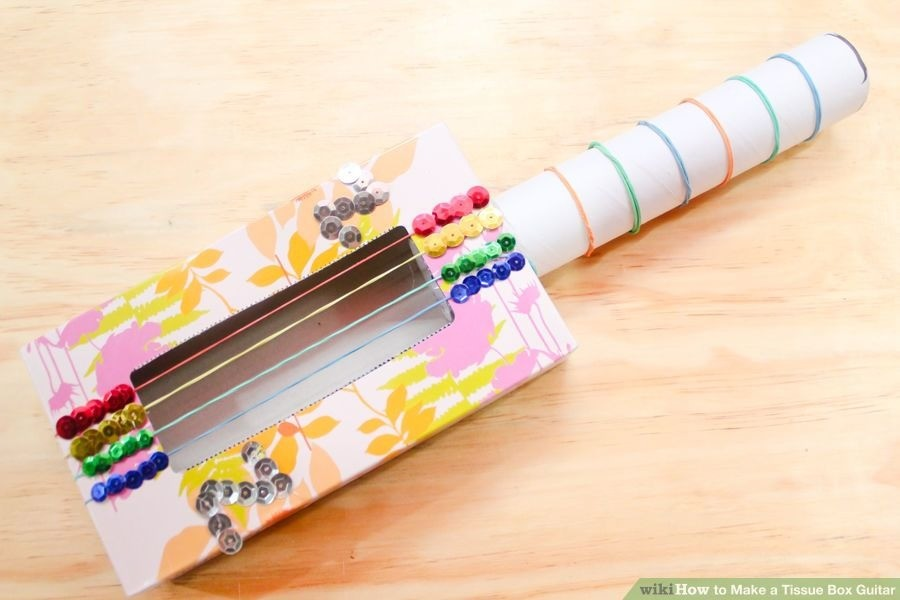 Click here for a mind. Do you remember the last time you made a tissue box guitar?.. yeh, the elastics crushed the box
