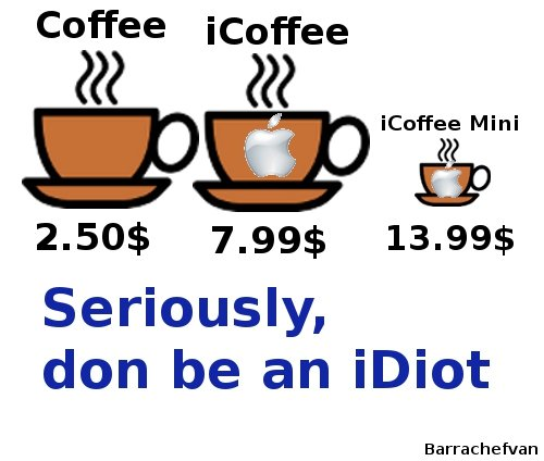 Coffee. My first Advice.... Coffee icoffee 222 icoffee Mini Seriously, don be an idiot. I feel like an idiot for reading iDiot like I-Diot