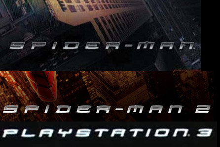 Coincidence?. strange eh?.. <---- Click on pic BTW, Ps3 or spiderman sued the other one for stealing the 3 logo