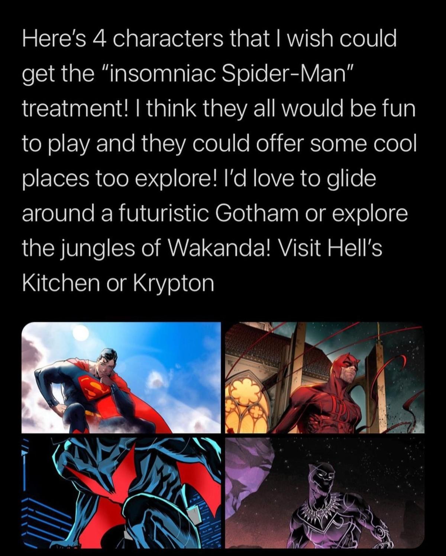 Comic Book Videogame.. .. I want games where you're the villain, Dr. Doom, Venom.