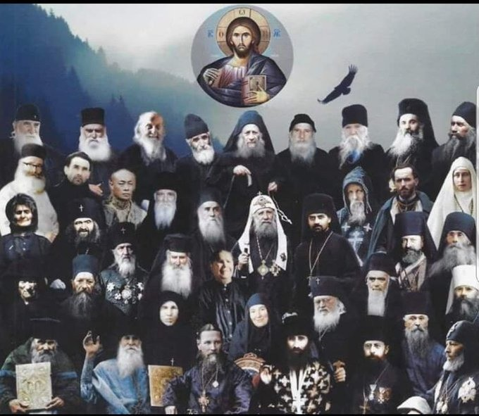 Compostion of the Saints from the 20th century:. .. Cool
