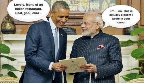 Conversation. . Mann of an Indian restaurant. Baal. gum, alum . a poem I