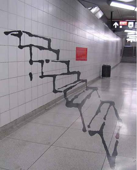 Cool Graffiti Staircase. .