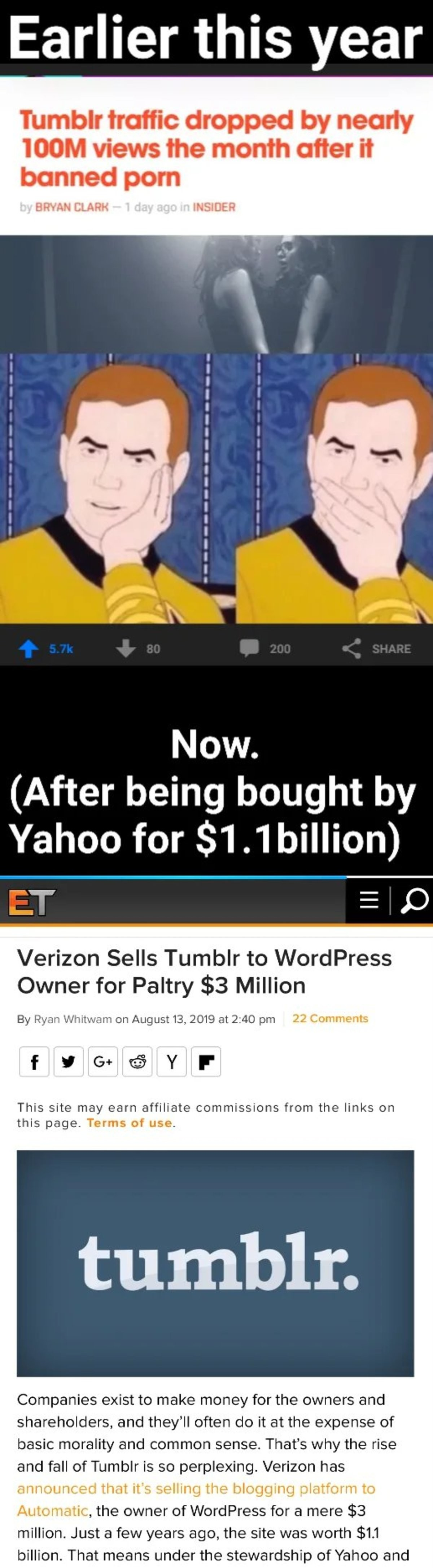 Cox. (couldn't find a better quality version of this).. why didnt they just put porn back on it instead of selling it for 3mil? big brain time