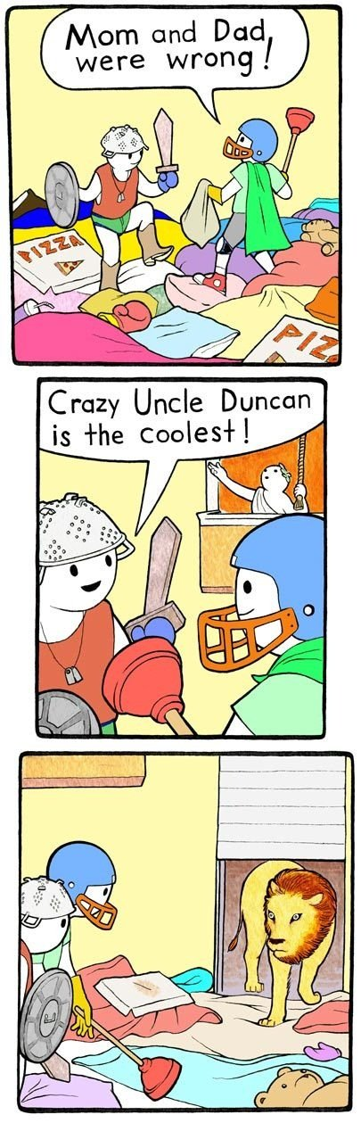 Crazy Uncle Duncan. dont forget to thumb! love y'all.