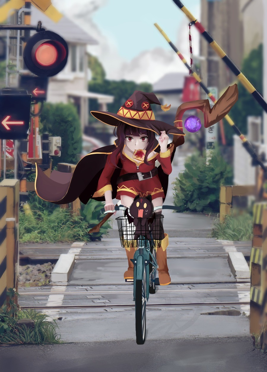 Daily Megumin: 426: Megulate. join list: DailySplosion (739 subs)Mention History Source: .. A wizard is never late ...