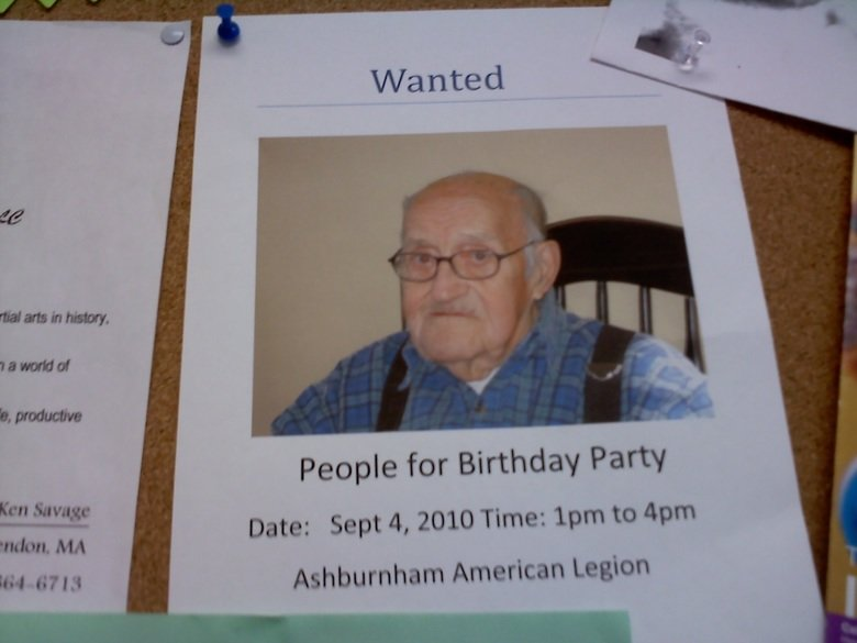 Damn.... Sorry if this is a repost. Gets me every time.. People for Birthday Party Ken Sang: Date: Sept 4, 2010 Time: ppm to ppm itdon, MA Benburnham American L