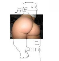 Dat Ass. What has been seen, cannot be unseen... This is actually pretty awesome