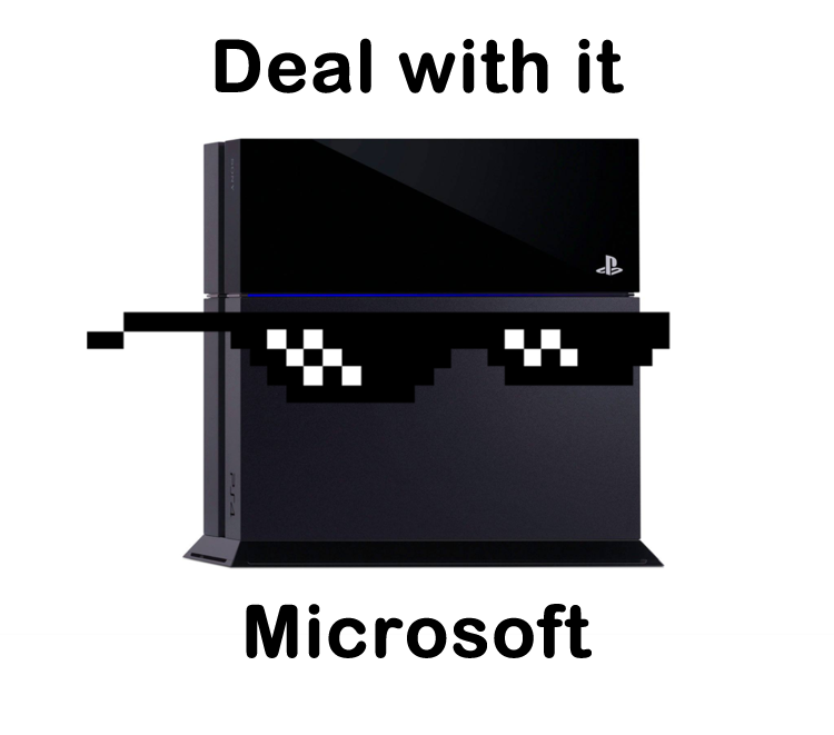 Deal with it. . Deal with it Microsoft. 399 all the way