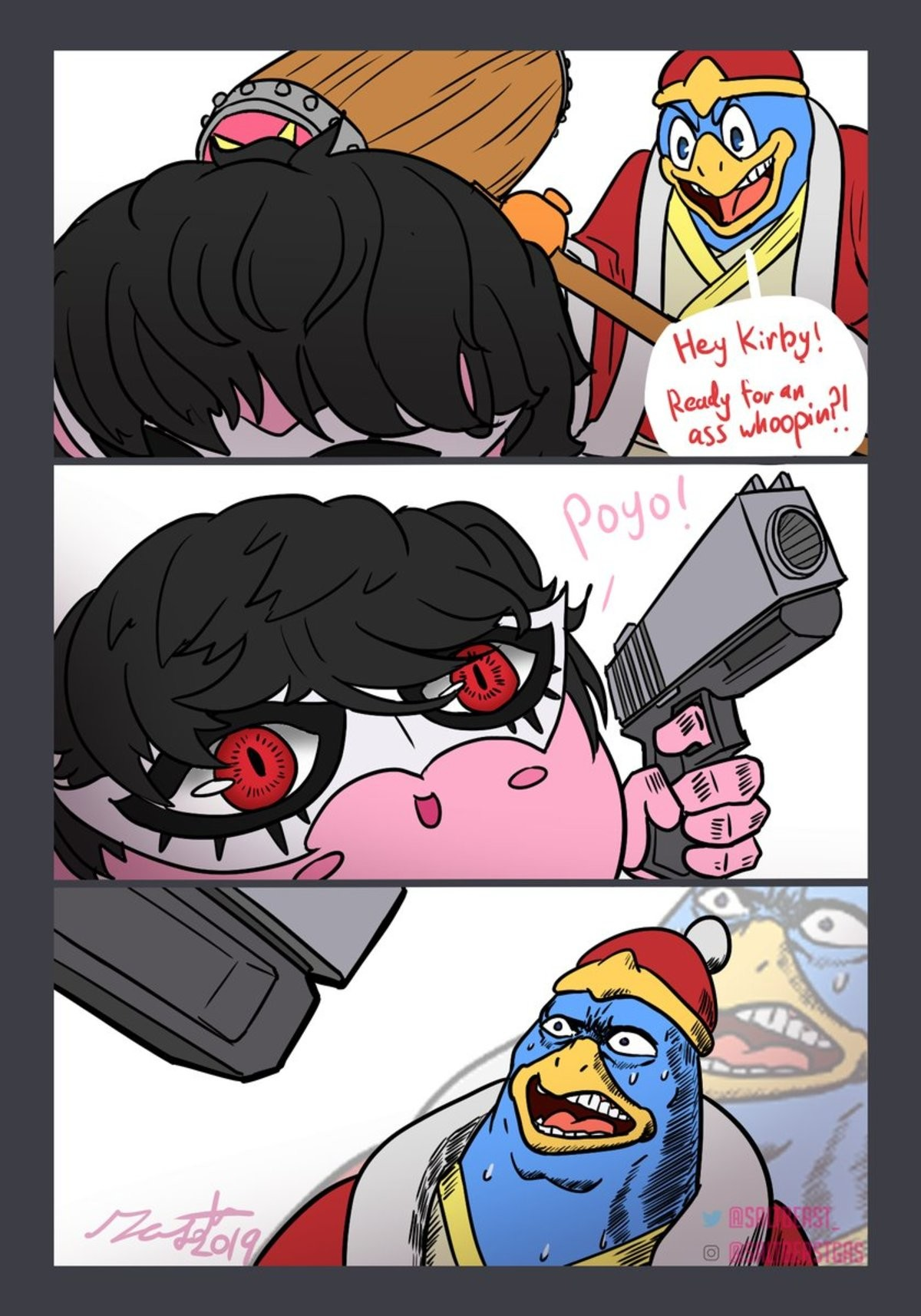 Dedede never saw it coming. .. Thank You
