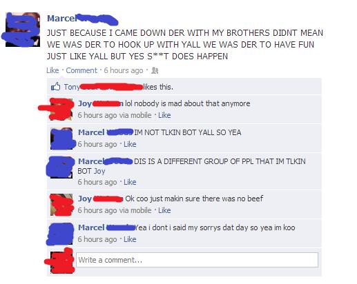 DER!. Facebook is hilarious.
