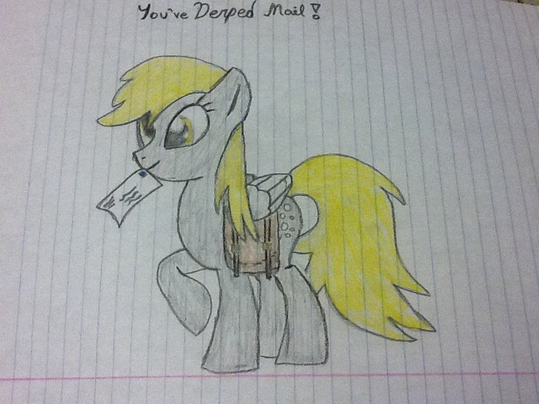 Derpy Drawing!!!. (Based off of a well known reaction pic). Spent some of my free time drawing this. Not expecting too many thumbs, due to its artistic nature,
