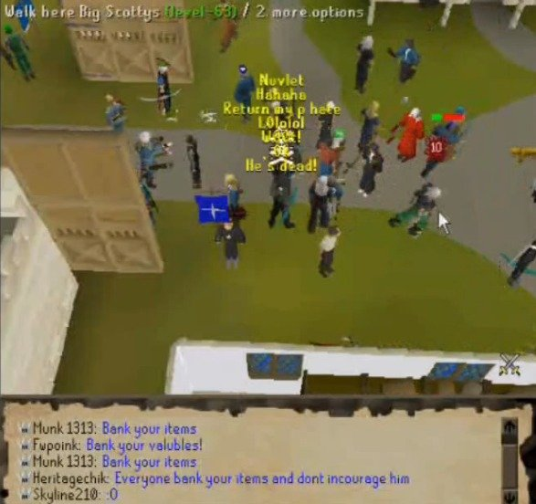 Did you know? Runescape. Did you know, on June 6th, 2006, that player Cursed You's level 99 Construction party caused one of the biggest and infamous glitches i