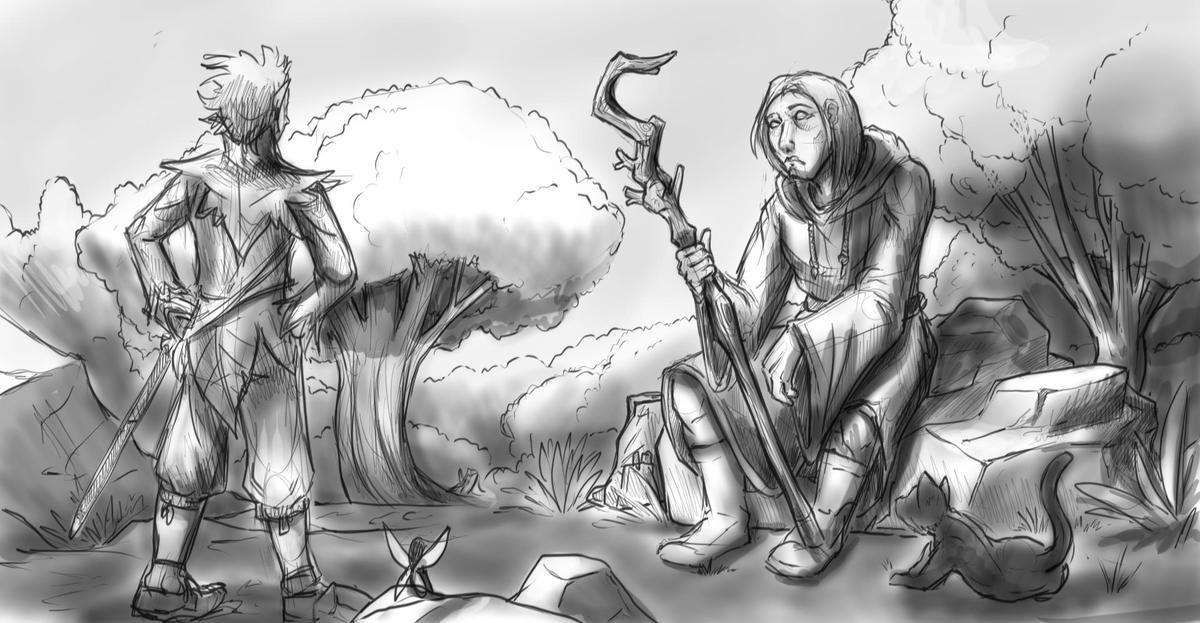 Digital doodles / drawings. .