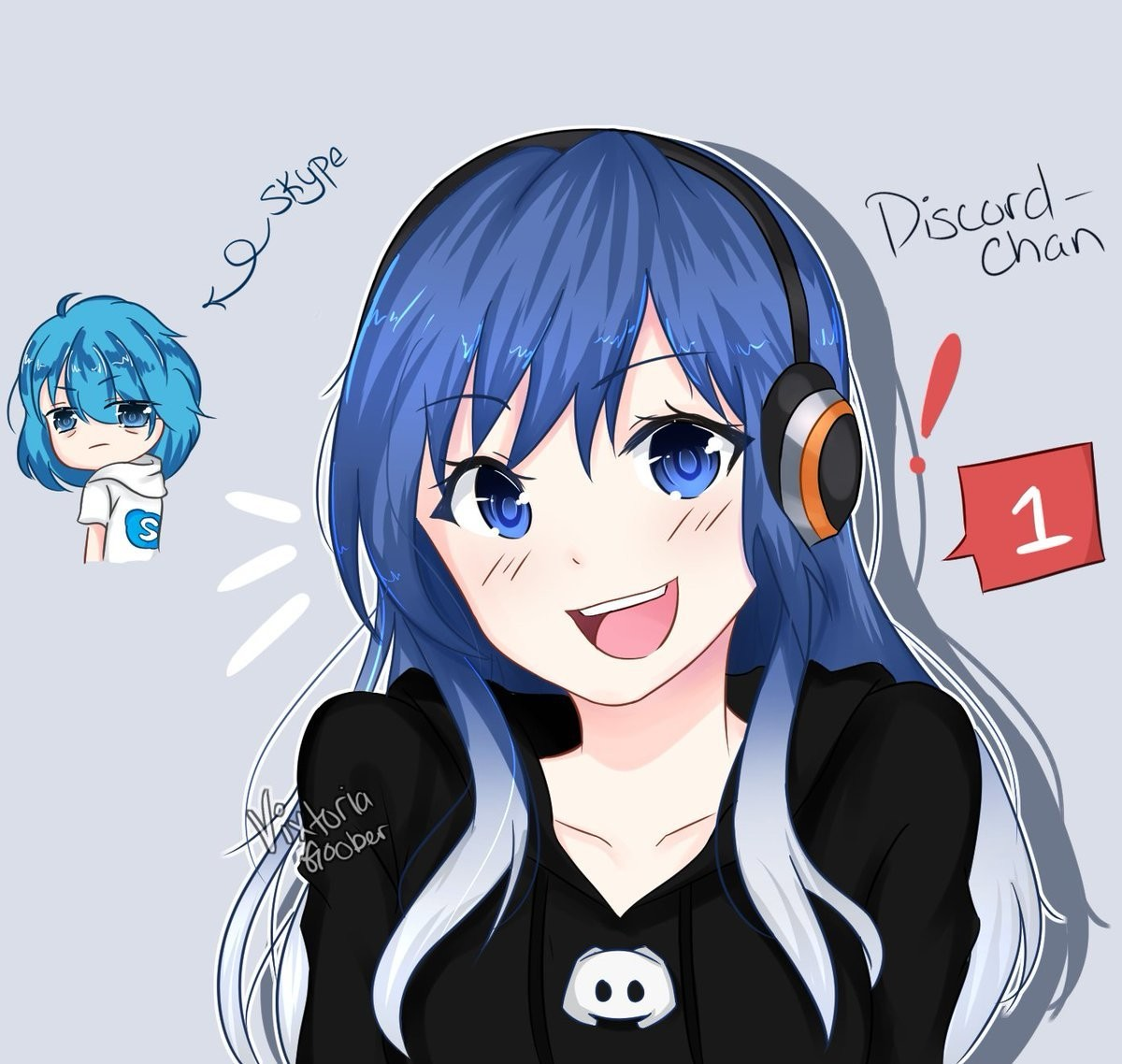DISCORD BESTIE. join list: QT (96 subs)Mention History .. When they say that you can't make everything an anime girl