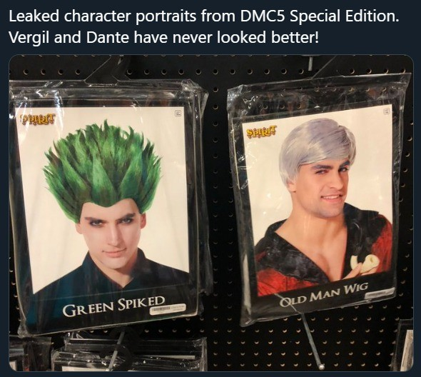 dmc. .. so vergil finds a new form even more powerful than sin dt green hair vergil