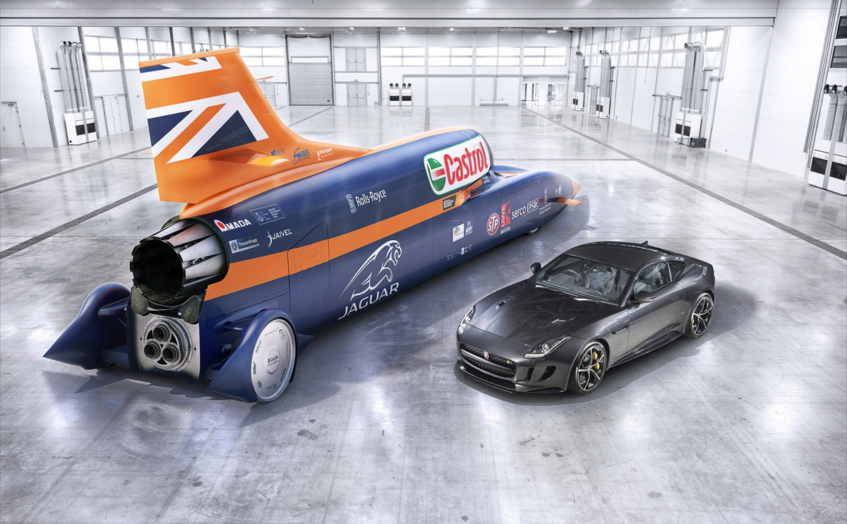 Meet the Bloodhound, 135,000HP of car. First public tests of the Bloodhound, a car designed to hit 1000mph, take place today On October 15, 1997, Br