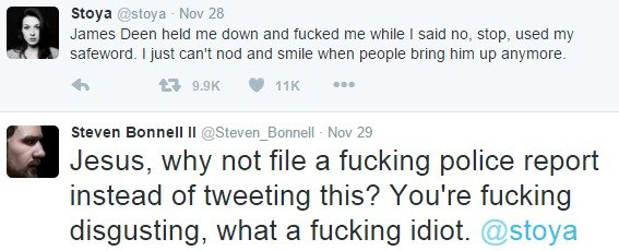 """DON'T TRIGGER ME BRO. Credit to <a href=""""steven"""">steven</a>_Bonell on twitter for not being a cuck.. Stays /. stews . New 28 James Deen he"""