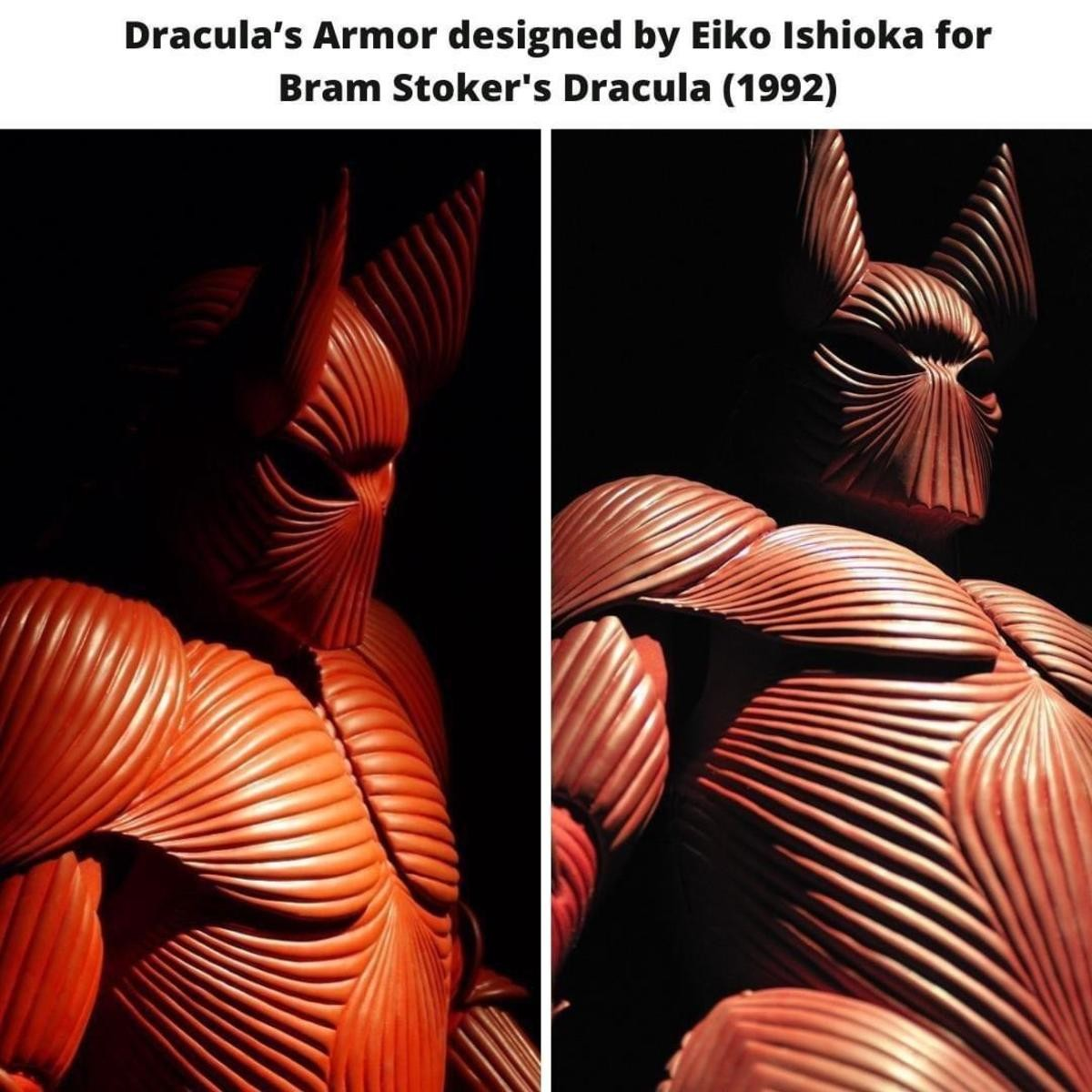 Dracula's Armor. .. That's a kickass design. Too bad he wears it for all of 20 seconds.