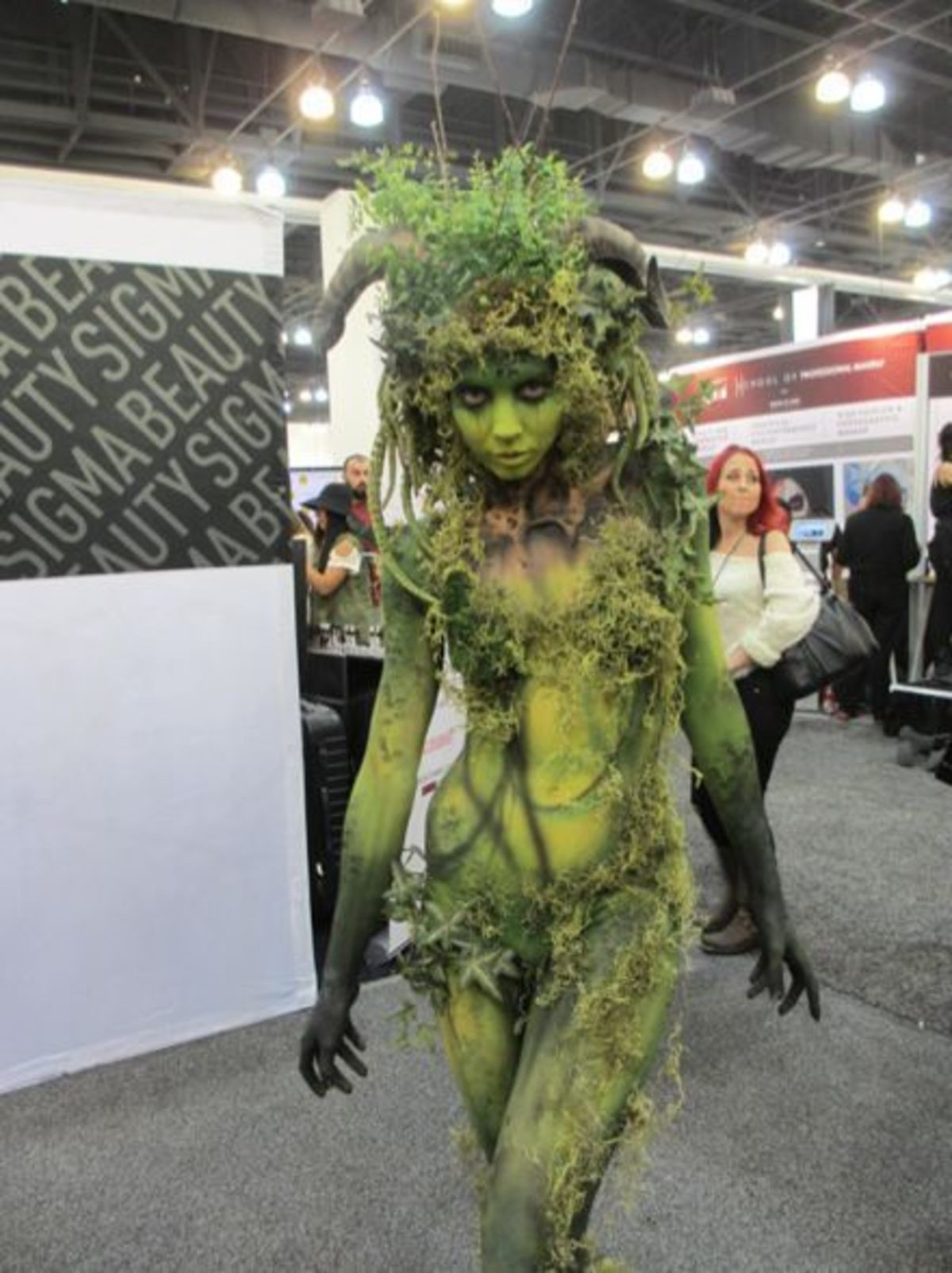 Dryad Cosplay. .. you ever drink Baily's out of a shoe?